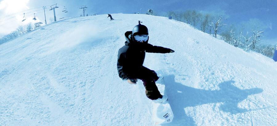 高鷲スノーパーク スノーボード insta360 ONEX2